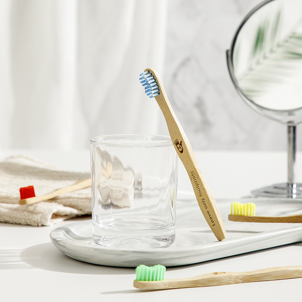 GreenBoss Bamboo ToothBrush for Kids