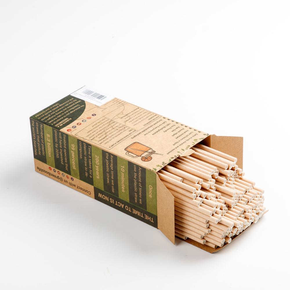 GreenBoss Paper Straws
